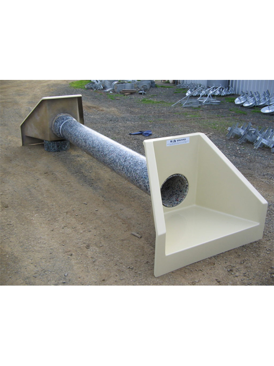 Front headwalls with 315mm pipe